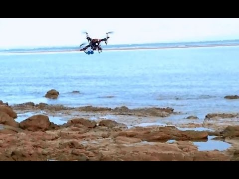 Turnigy Talon Quadcopter ACRO 330 flying at the Beach. Fast and Responsive. Love it. - UCIJy-7eGNUaUZkByZF9w0ww