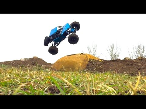 RC ADVENTURES - Brushless Axial Bomber on my U4 RC Truck Course - UCxcjVHL-2o3D6Q9esu05a1Q
