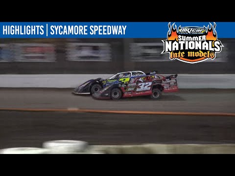 DIRTcar Summer Nationals Late Models Sycamore Speedway June 25, 2021   HIGHLIGHTS - dirt track racing video image