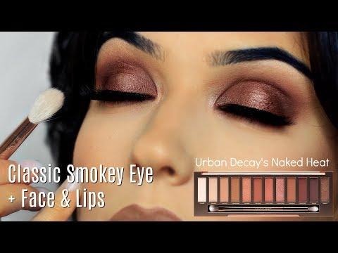 Makeup Tutorial   Smokey Eye Makeup Look + Face & Lips   TheMakeupChair - UC-1-zPmT368J8JRbsK_1keA