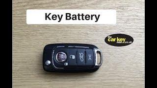 Sostituzione batteria chiave Nuova Fiat 500L