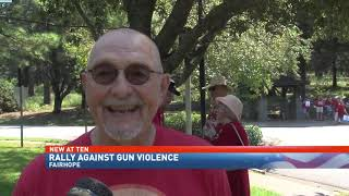 NBC 15 WPMI- Recess Rally in Fairhope part of nationwide effort to end gun violence