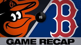 4/12/19: Nunez propels Red Sox to win over O's