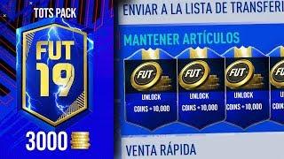 ESTOS SOBRES CUESTAN 3000 MONEDAS Y TE ASEGURAN SIEMPRE MONEDAS EN FIFA 19