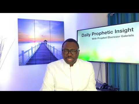 Prophetic Insight Jul 11th, 2021
