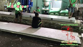 Việt Nguyên Co.,Ltd; Video How to make EPS panel manual with slow PU glue Made in Vietnam 0978700123