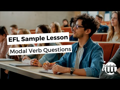 EFL Sample Lesson - Modal Verb Questions