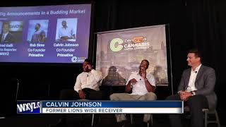 Calvin Johnson, Rob Sims partnering with Harvard to study marijuana, CTE
