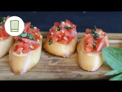 Bruschetta italiana - Das original Rezept | Chefkoch.de