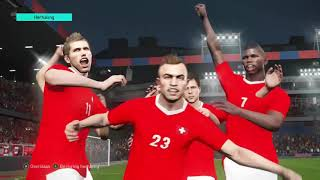 LAST YEAR: PES 2018 Full Gameplay: Switzerland Vs Norway