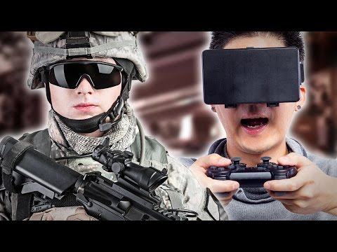 Gamers Compete Against Vets At A Shooting Range - UCpko_-a4wgz2u_DgDgd9fqA