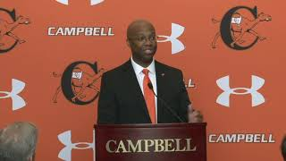 Campbell University | Omar Banks Introductory Press Conference