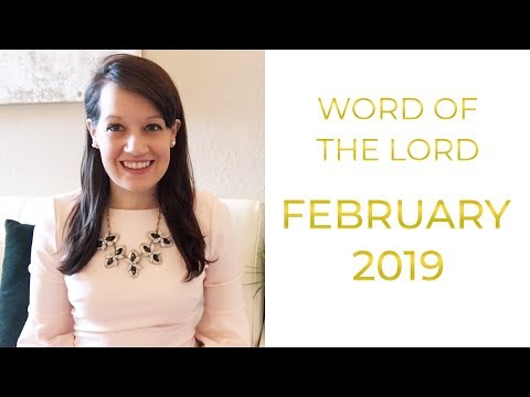 Word of the Lord February 2019