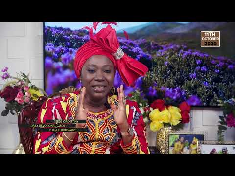 Dr Becky Paul-Enenche - SEEDS OF DESTINY - SUNDAY OCTOBER 11, 2020