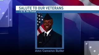 Salute to our veterans: Airman Cameron Butler - NBC 15 WPMI