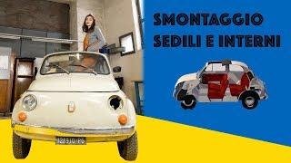 Smontare sedili Fiat 500