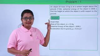 Class 9th Physics - Work and Energy - Potential Energy Problem