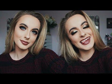 DRUGSTORE Holiday Makeup Tutorial 2018 | Neutral Christmas Glam - UCXyp4JB_NONE11vAhaEzdbw