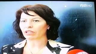 TVSH pasqyron programin e votuesve te rinj - Vizita e Znj.Lefterie Luzi (Lleshi)