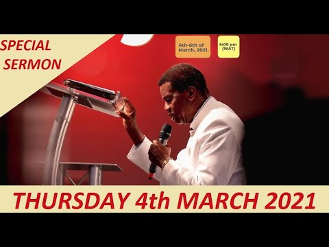 PASTOR E.A ADEBOYE SERMON - RCCG SPECIAL HOLY GHOST SERVICE 2021 - DAY 1