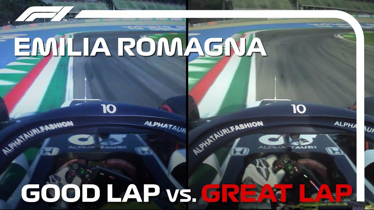 Good Lap vs. Great Lap, with Pierre Gasly | Emilia Romagna Grand Prix