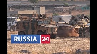 Russian News' interpretation of the Turkish convoy incident in Syrian Idlib on August 1