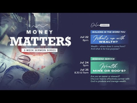 Trinity Christian Centre  Walking in the Word Thu 8pm (SGT) English Online Service