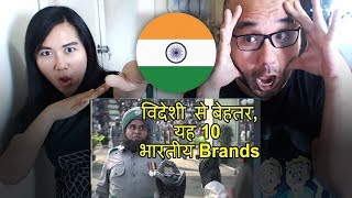 Indonesians React To Top 10 Brands Which Sound Foreign But Are Actually Indian