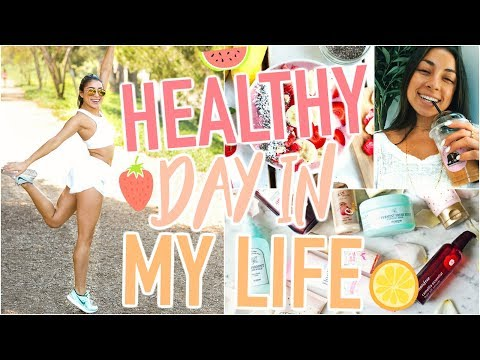 HEALTHY Day In My Life - What I Eat, Full Workout, Skincare Routine, & Makeup Hacks, & More!! - UCrcYxVSkBgg9szDSwwZaNwg