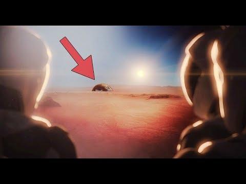 मंगल-ग्रह के ऊपर से क्या दिखता है? (From The Mars)