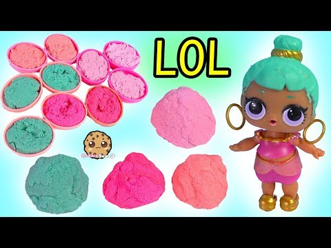 Sand Ball ! LOL Pet Surprise Mixing All Sand Blind Bag - Cookie Swirl Video - UCelMeixAOTs2OQAAi9wU8-g