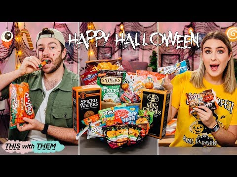 British People Trying American Halloween Candy - This With Them