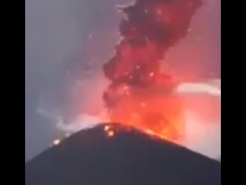 Prophecy Alert: Massive Volcono Erupts Turns Day Into Night