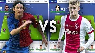 Barcelona La Masia Academy VS Ajax Academy - FIFA 19 Experiment