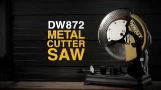 Metallilõikesaag DeWalt DW872