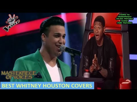 WHITNEY HOUSTON COVER AUDITIONS IN THE VOICE - UCP9FOft3cfPhI_fLTgT1hjQ