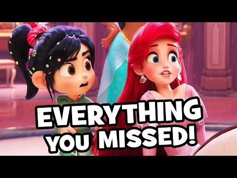 Every AMAZING Wreck-It Ralph 2 DISNEY PRINCESS Detail You Missed! - Ralph Breaks The Internet - UCS5C4dC1Vc3EzgeDO-Wu3Mg