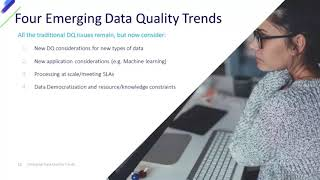 Webinar: Emerging Data Quality Trends for Governing and Analyzing Big Data