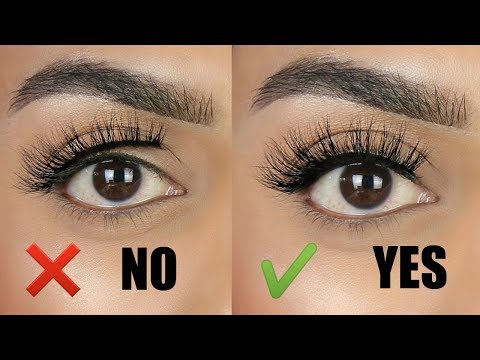 c1e5c14912a How to easily apply lashes with a THICK lash band | Tips & tricks for  beginners