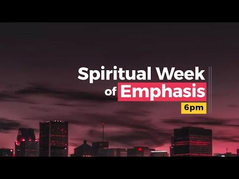 Week of Spiritual Emphasis  Day 1  10-06-2021  Winners Chapel Maryland