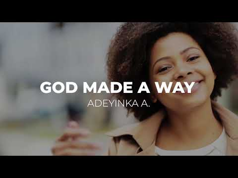God can make a way for you today - Watch this awesome testimony