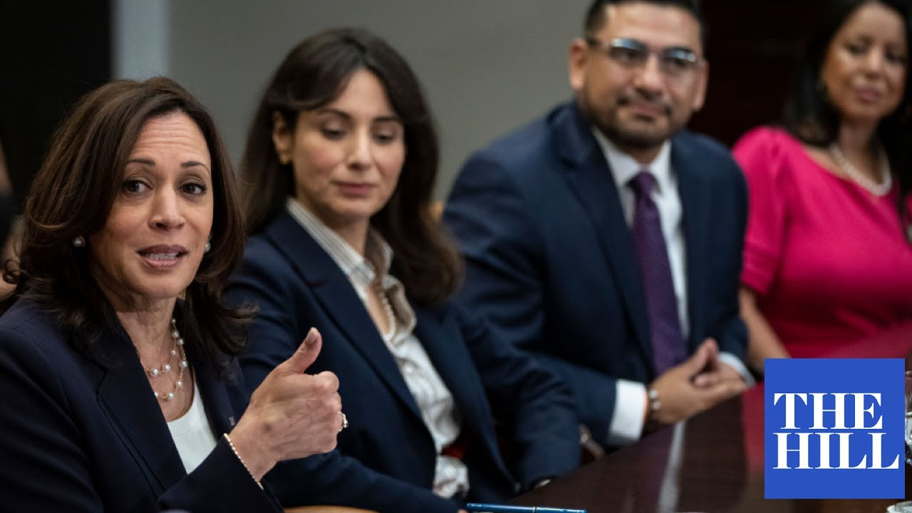 Vice President Kamala Harris meets with Texas lawmakers on voting rights