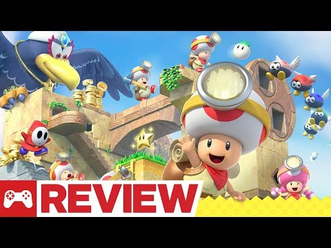 Captain Toad: Treasure Tracker - Switch and 3DS Review - UCKy1dAqELo0zrOtPkf0eTMw