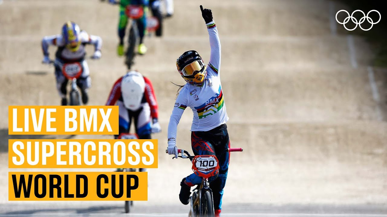 LIVE BMX action from the Supercross World Cup! 🚴| Round 7