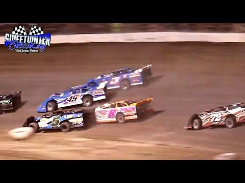 Sweetwater Speedway High Plains Late Model Series Main Event 7/3/21 - dirt track racing video image