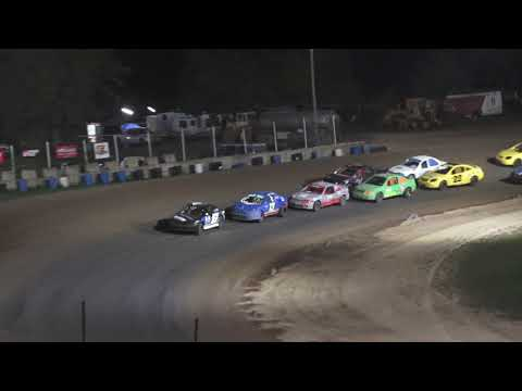 Flinn Stock A-Feature at Crystal Motor Speedway, Michigan on 09-05-2021!! - dirt track racing video image