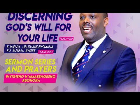 FOURSQUARE TV -  KUMENYA UBUSHAKE BW'IMANA HAMWE NA BISHOP DR. FIDELE MASENGO - 24/11/2019