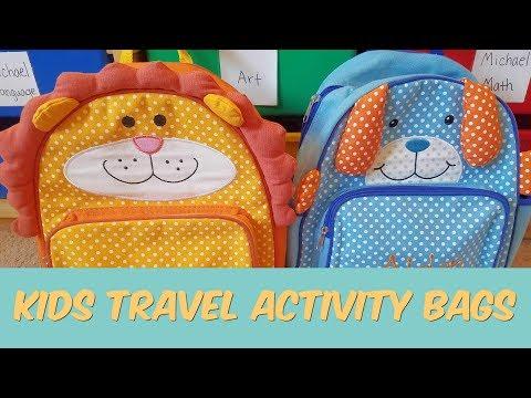 Kids Travel Activity Bags