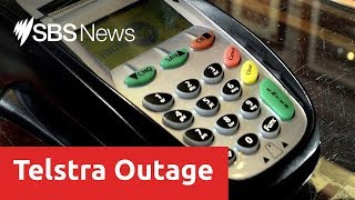 Telstra outage puts banks and stores offline across Australia
