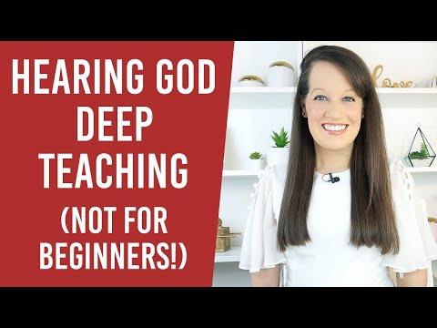 Hearing God: Deep Teaching! ( Not for newbies)
